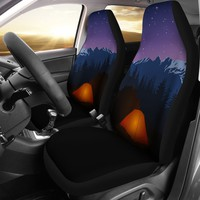Camping Glow Car Seat Covers