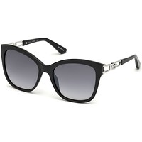 Guess - GU7536-S Black Sunglasses / Gradient Smoke Lenses