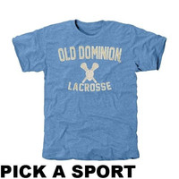 Old Dominion Monarchs Legacy Tri-Blend T-Shirt - Light Blue