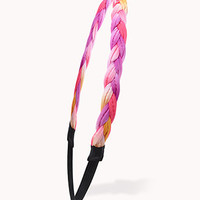 Braided Faux Patent Leather Headband