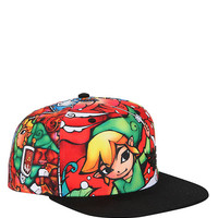 The Legend Of Zelda: The Wind Waker Stained Glass Sublimation Snapback Hat