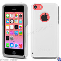 New OEM Otterbox Commuter Series White Shell Case for Apple iPhone 5C