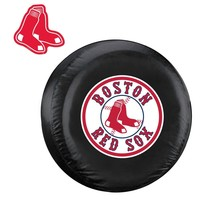 Boston Red Sox MLB Spare Tire Cover and Grille Logo Set (Large)
