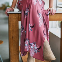 Altar'd State South Western Maxi Skirt