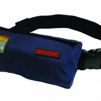 Revere ComfortMax Inflatable Belt Pack Type III Personal Flotation Device (Navy Blue, 30-52-Inch)