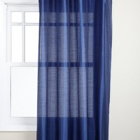 Stylemaster Tribeca 56 by 84-Inch Faux Silk Grommet Panel, Cobalt