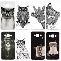 New Super Fashion Luxury Hard Plastic Case Cover For Samsung Galaxy S3 S4 S5 Mini S6 S7 Edge Plus Note 2 3 4 5 J1 J5 J7