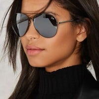 QUAYFlag Ship Aviator Shades