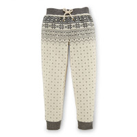 FAIR ISLE FLEECE SWEATPANT