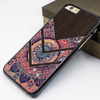 salable iphone 6 case,new iphone 6 plus case,flower chevron iphone 5s case,wood flower image iphone 5c case,mandala flower iphone 5 case,art wood design printing iphone 4s case,personalized iphone case