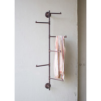 Swivel Pipe Coat Rack