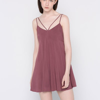 JUMPSUIT WITH A CROSSOVER BACK - DUNGAREES & JUMPSUITS - WOMAN - PULL&BEAR United Kingdom