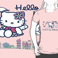 Hello Kitty in the city