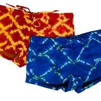 BATIK PRINT SHORTS by Wren for Of a Kind