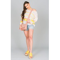 Bell Sleeve Spring Sweater