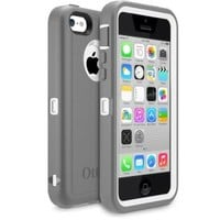 OtterBox Defender Series Case for iPhone 5c - Retail Packaging - Pink/Gray