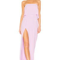 Amanda Uprichard Topanga Maxi in Electric Lilac | REVOLVE