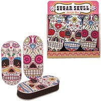 Nail File Sugar Skull - Set Of 3