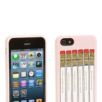 kate spade new york 'pencil case' iPhone 5 & 5S case   Nordstrom
