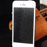 Free Shipping Beautiful Screen Protector  Diamond Glitter Sparkling Guard For iPhone 6 6s(WHD1169-6-2 )
