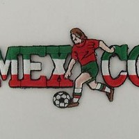Mexico Mexican Soccer Patch Parches Mexicanos Iron on Sew on