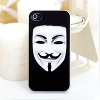 Guy Fawkes Mask Case for iPhone4/4S