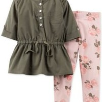 carters bird ruffled Onesuit tank with floral pants - Google Search