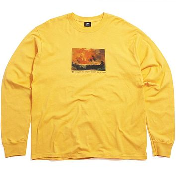 Red Sky Longsleeve T-Shirt Orange