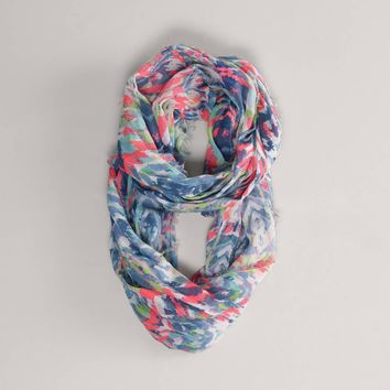 AEO Ikat Loop Scarf | American Eagle Outfitters