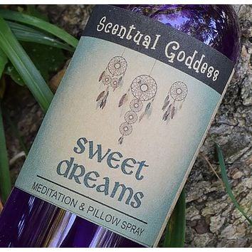 SWEET DREAMS Spray for Meditation, Vivid Dreams & Shamanic Journeying