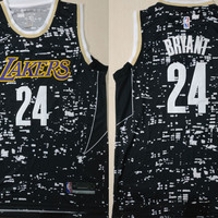 LA Lakers #24 Kobe Bryant Luminous Swingman Jersey