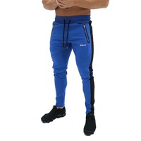 New Mens bodybuilding Pants Gyms Zipper packet Pants Brand Clothing Cotton printing Trousers Fitness workout Jogger Sweatpants