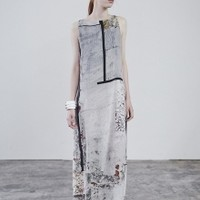 Long Dress with Light Print | NOT JUST A LABEL