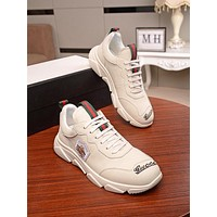 Gucci Men Fashion Boots fashionable Casual leather Breathable Sneakers Running Shoes01