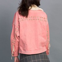 Lace-up Cord Jacket