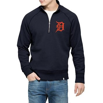 Detroit Tigers - Cross Check 1/4 Zip Pullover Sweater