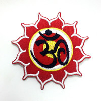 Red Flower/Sun Yoga Patch