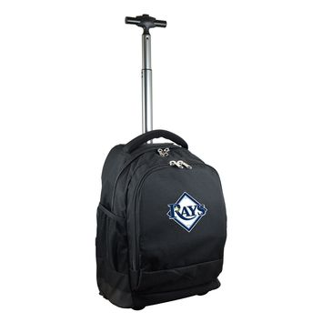Tampa Bay Rays Wheeled Premium Backpack