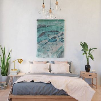 Seafoam Wall Hanging by duckyb