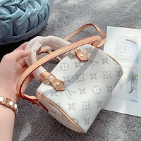 Louis Vuitton LV Zipper Handbag Shoulder Bag Female Bag Pillow Bag