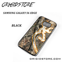 Love Browning Deer Camo Real Tree A For Samsung Galaxy S6 Edge Case Please Make Sure Your Device With Message Case UY