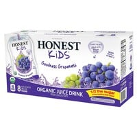 Honest Kids Goodness Grapeness Organic Juice Drinks - 8pk/6.75 fl oz Pouches