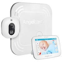 Angelcare Video and Sound with Wireless Movement Sensor Pad Baby Monitor - AC517