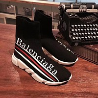 Balenciaga Speed Stretch Knit Socks Shoes