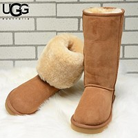 UGG Autumn And Winter New Fashion Keep Warm Boots Shoes Women