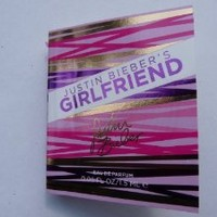 Justin Bieber's Girlfriend Eau De Parfum 0.05oz/1.5ml