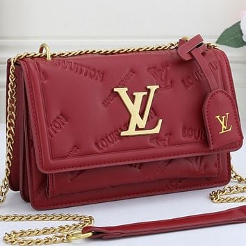 Louis Vuitton LV Monogram Women's Handbag Shoulder Bag
