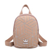 ADIDAS stylish casual lady backpack hot seller with a gradient Mosaic pattern shopping small backpack #1