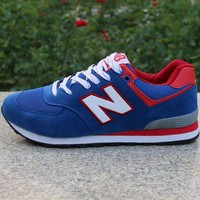 GCK1IN new balance women men casual running sport shoes sneakers sapphire blue