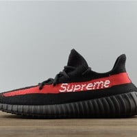 Superme x Adidas Yeezy Boost 350 V2 Black/Red